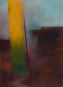 Licht-einfall 1 (Herbst), Acryl auf Leinwand 80x110,  09/2014