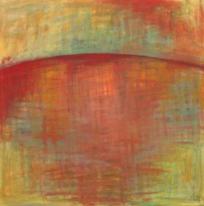 Rotes Meer 1, Acryl auf Leinwand 50x50, 02/2016