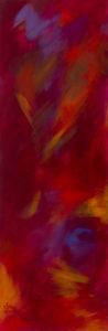 Unter die Haut, Acryl auf Leinwand 30x90, 03/2016